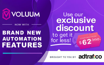 Voluum Exclusive Discount