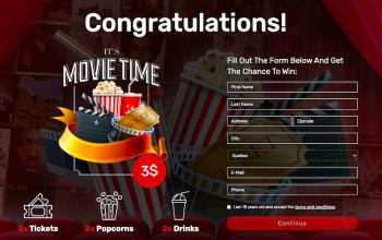 New Cinema Gift Card Offer