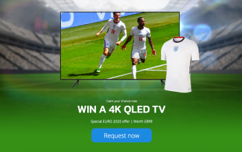 New EURO 2020 4K QLED TV Offers